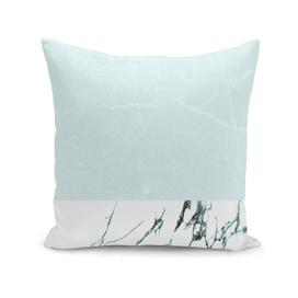 Marble & concrete - soft aqua