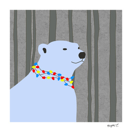 Polar Bear Holiday Design