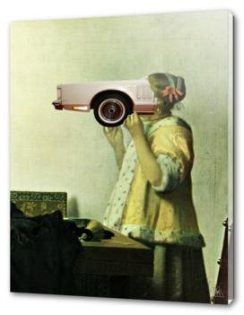 Vermeer · Dame mit CarFace