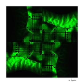 Night Spin Green