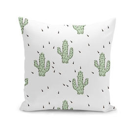 Cactuses abstract modern print simple
