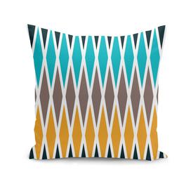 Seamless abstract rhombus geometrical print
