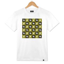 Geometric Pattern #42 (mustard box)