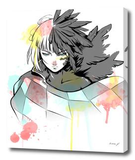 Howl Watercolor