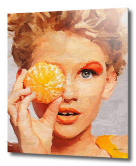 Orange mood