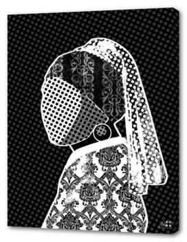 Vermeer der Perlenohrring und das Muster