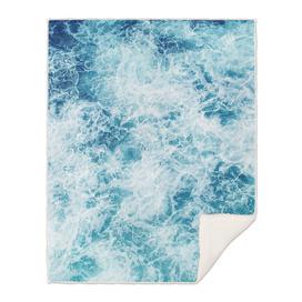 Sea ocean storm waves