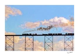 Choo Choo in the Clouds