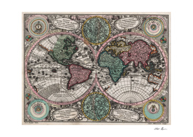 Vintage World Map (1744)
