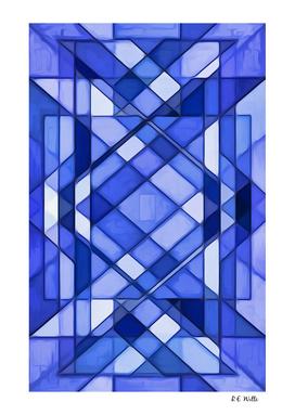 Blue Prismatic