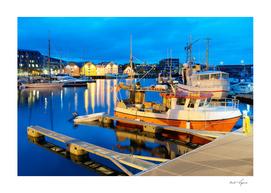 Norway port scene