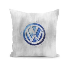Volkswagen logo sketch