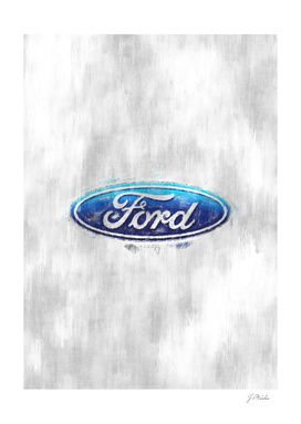 Ford logo sketch