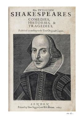 Vintage William Shakespeare Portrait
