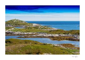 Northern dramatic landscape