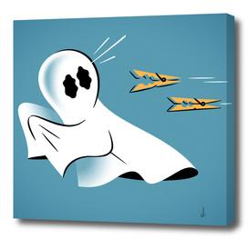 A Fearful Phantom (Teal)