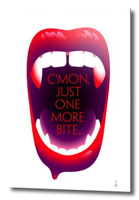 One More Bite (White)
