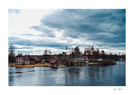 Traditional Karelia landscape
