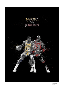 Sports Moments - Magic vs Jordan