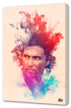 Matthew McConaughey Watercolor Portrait