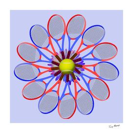 Tennis Racket Daisy 3