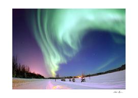 Northern Lights of Alaska Photograph