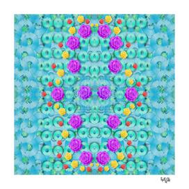 Season for roses and polka dots