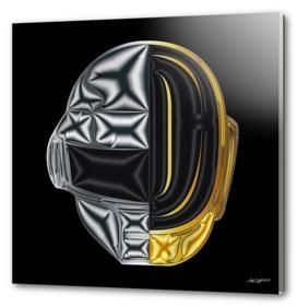 Generative Portraits - Daft Punk - Outside