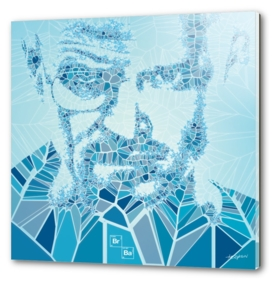 Generative Portraits - Breaking Bad - Blue Sky