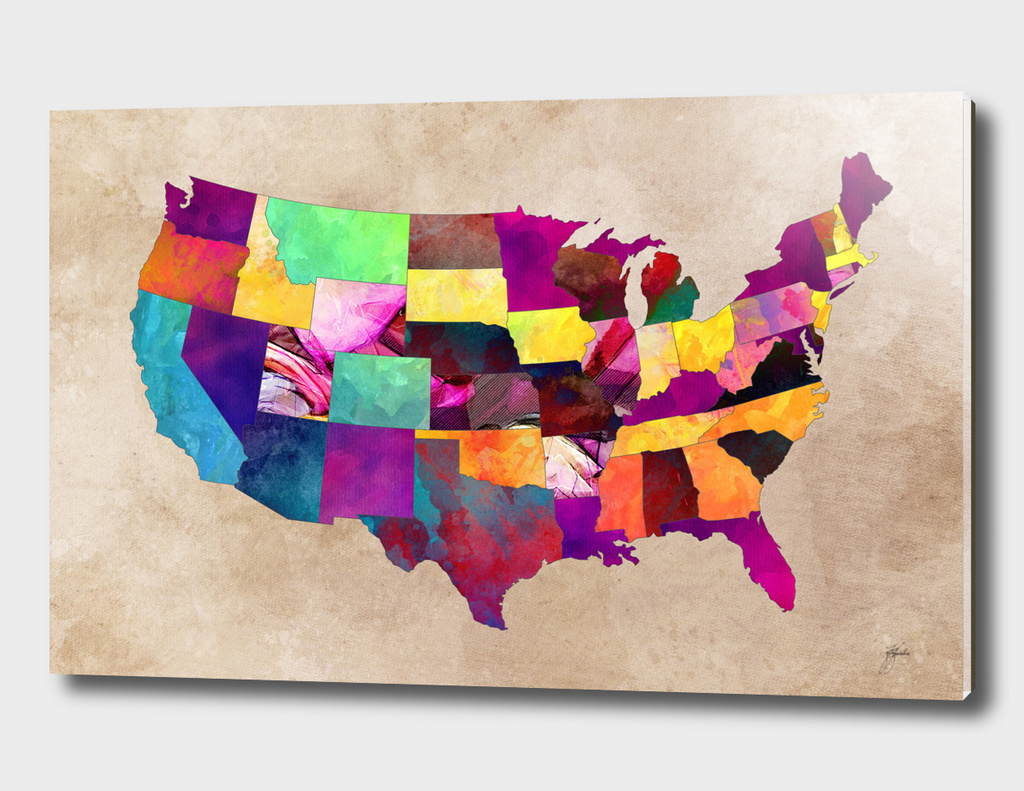 USA map 1