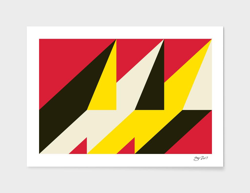 Geometric Abstract No #107