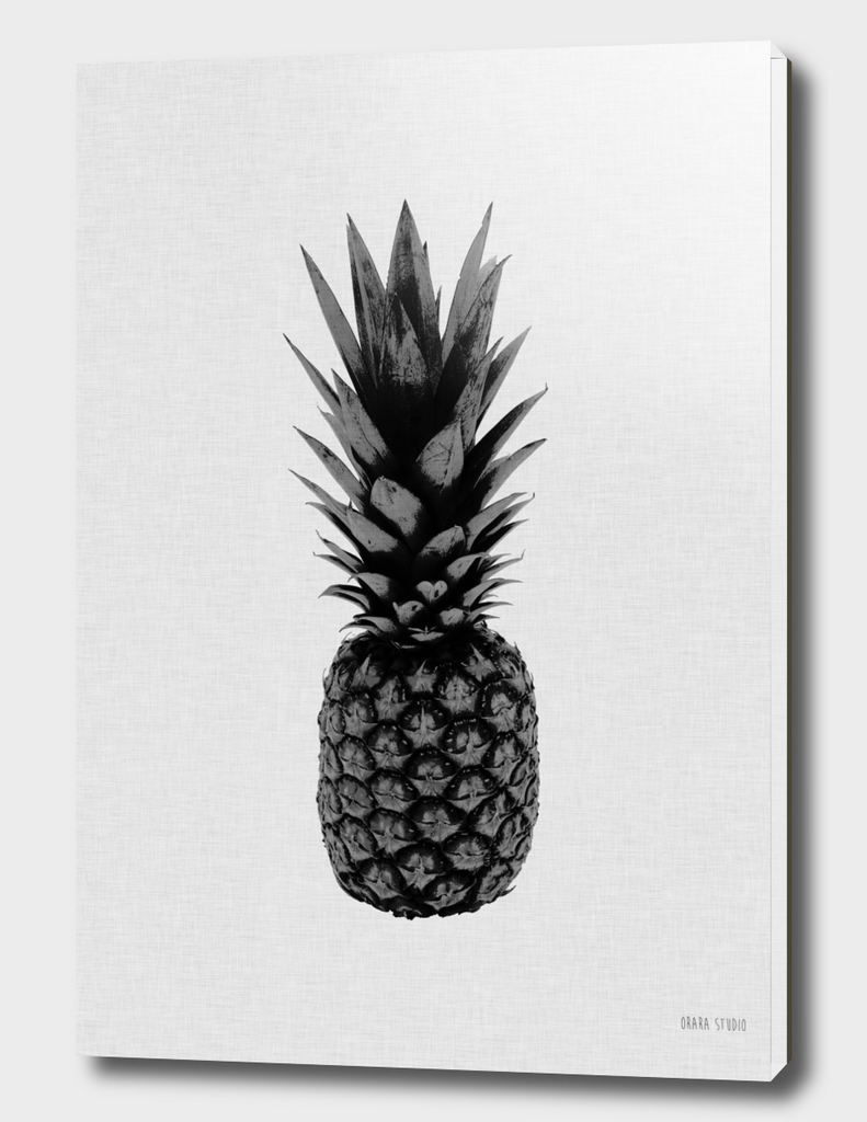 Pineapple BW