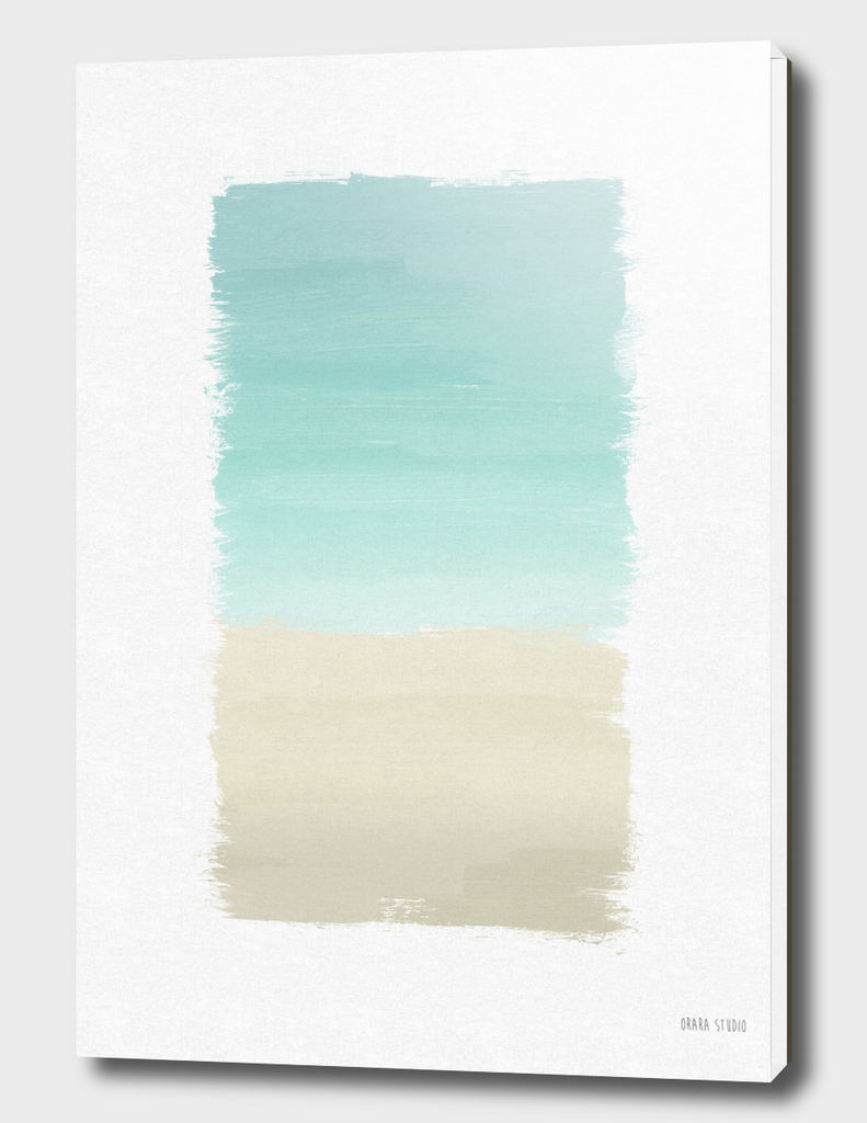 Turquoise Abstract
