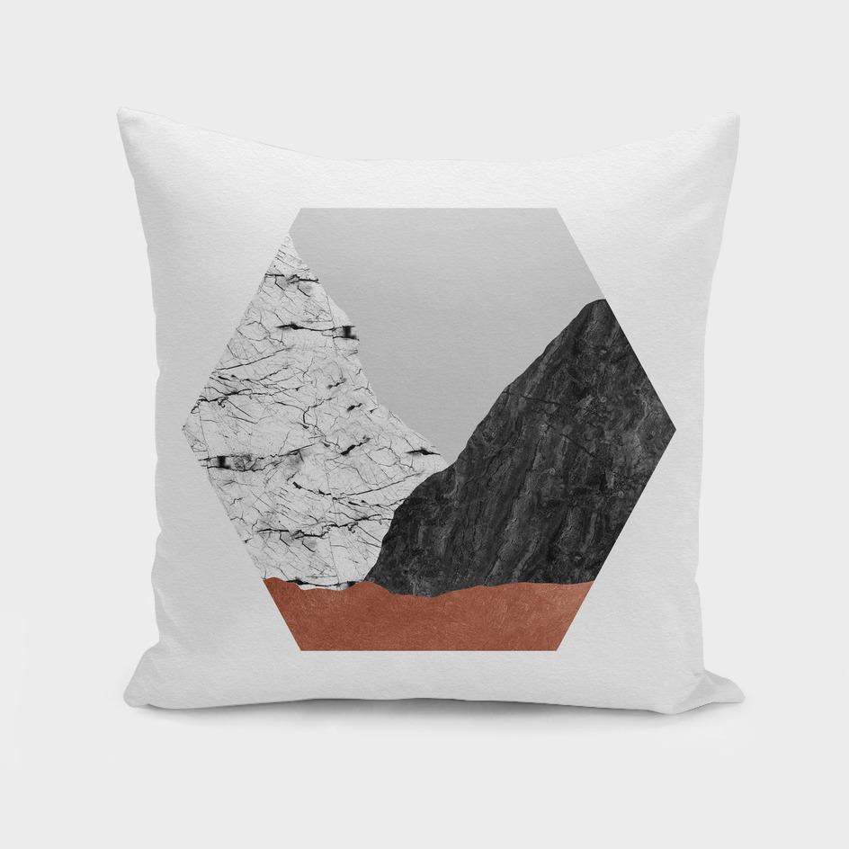 Copper Geometric I