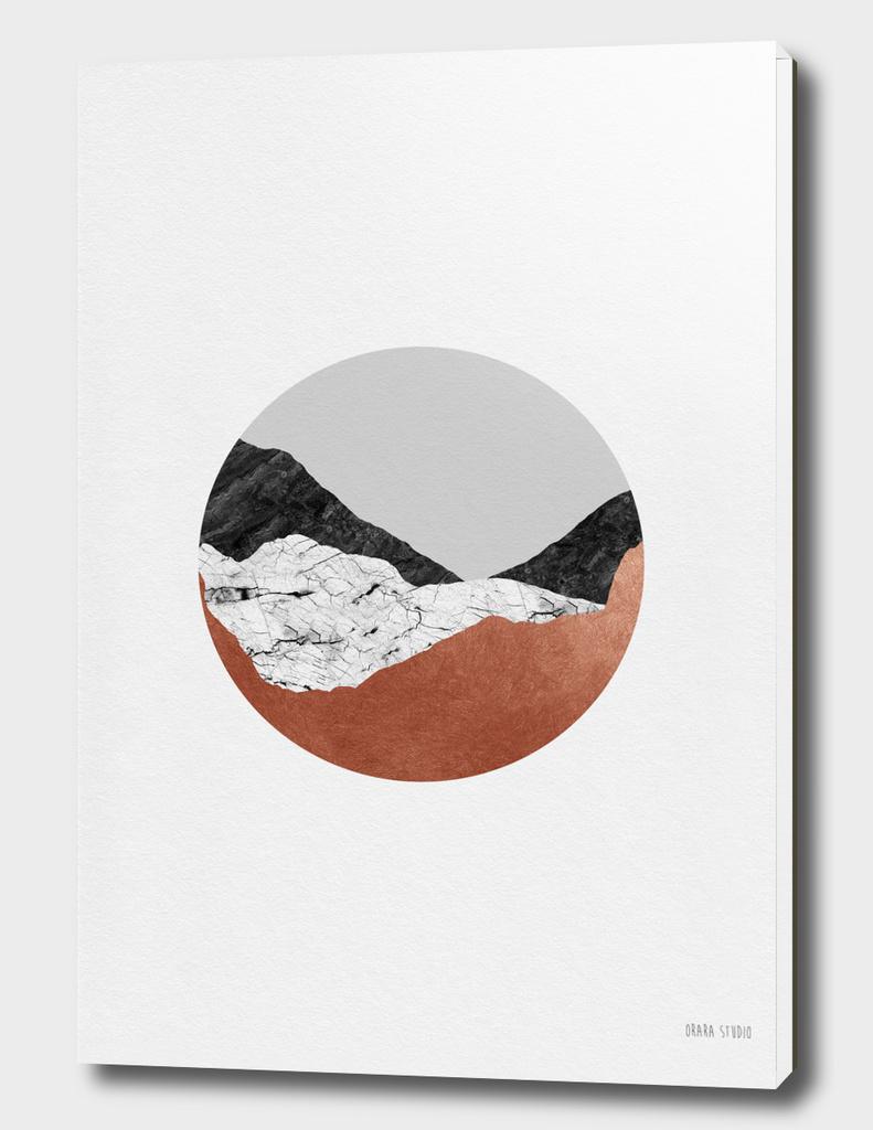 Copper Geometric III