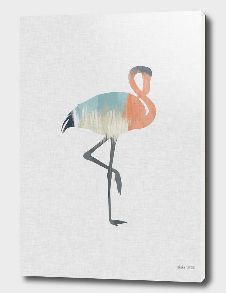 Pastel Flamingo