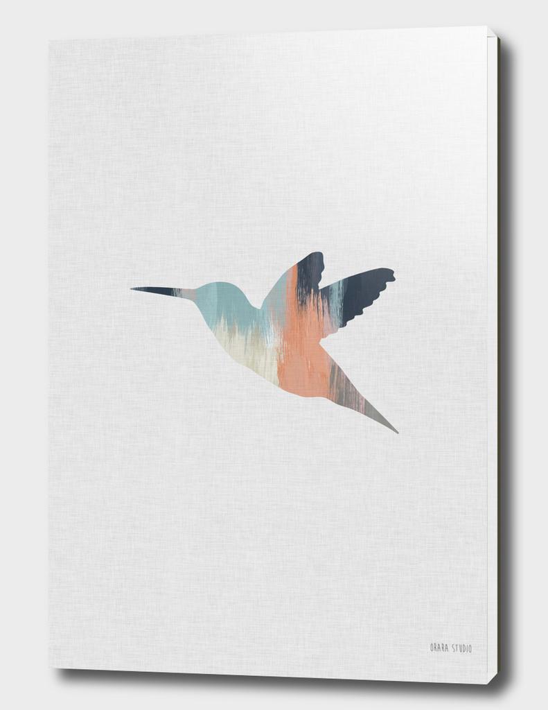 Pastel Hummingbird