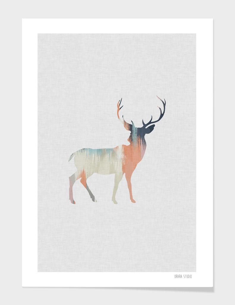 Pastel Deer