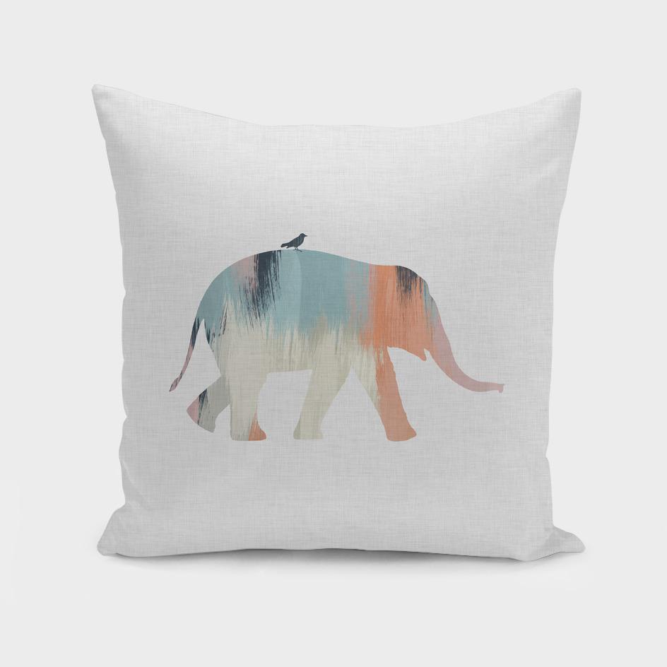 Pastel Elephant