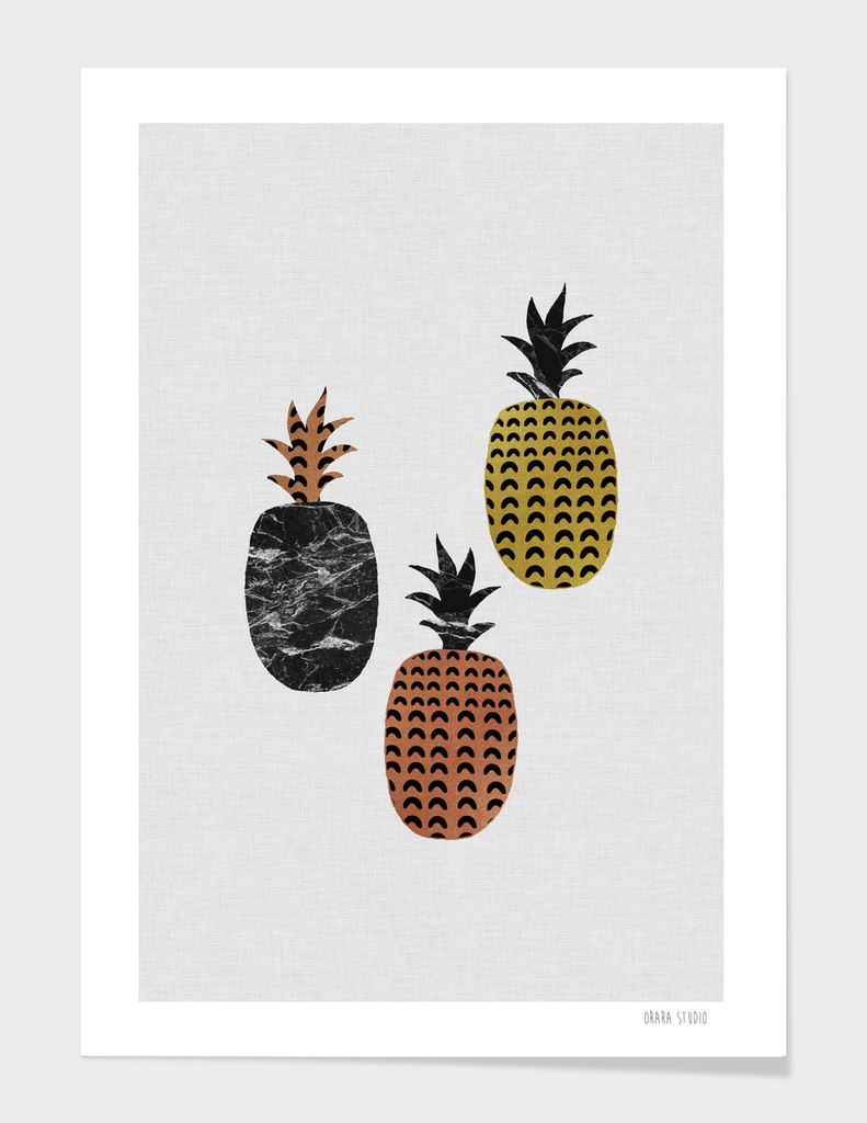 Scandinavian Pineapples