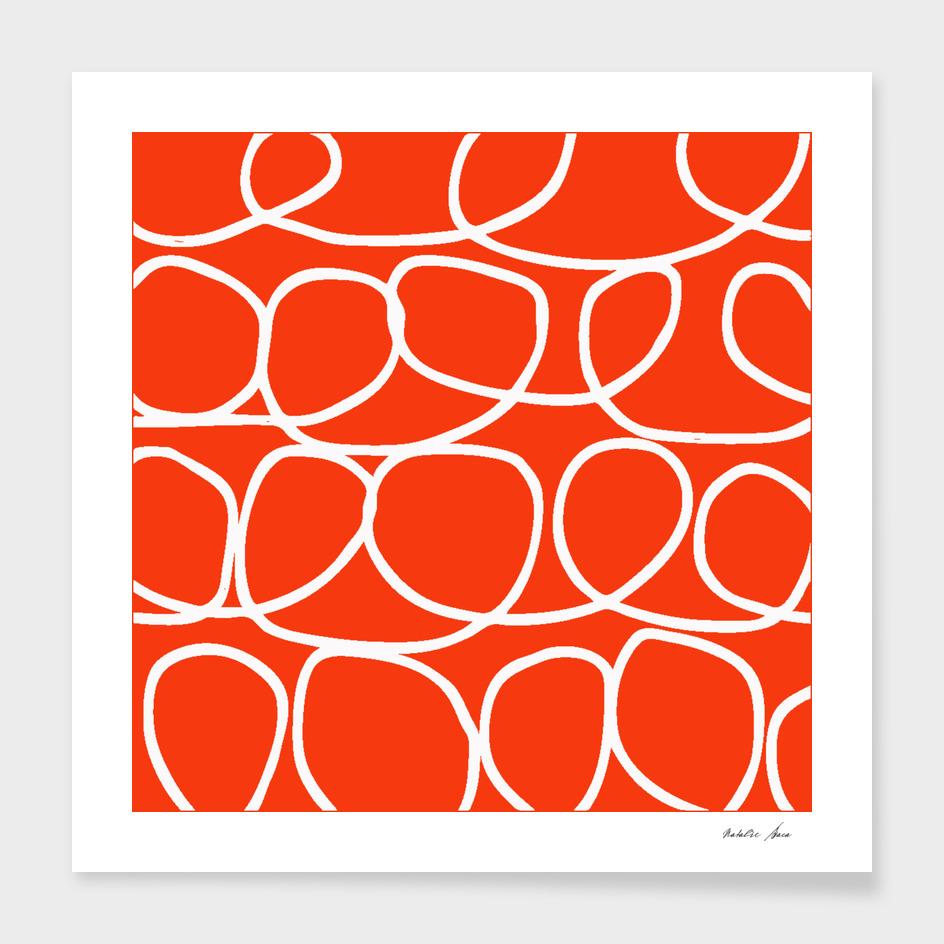 Loop Di Doo - Orange & White