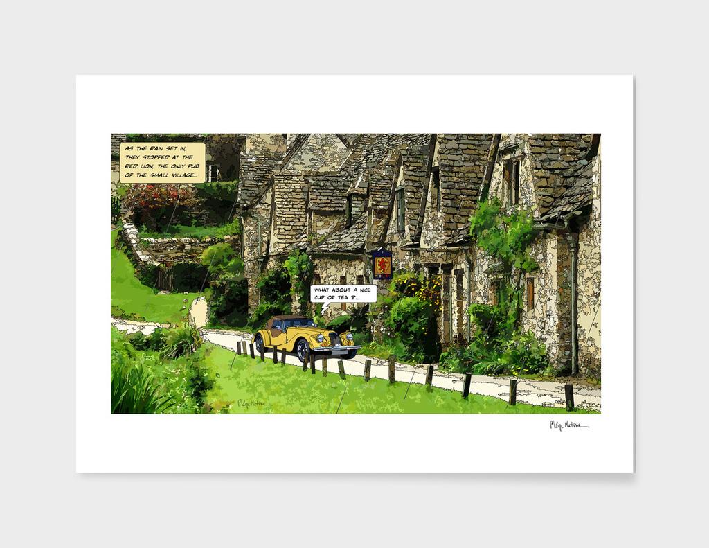 English Village, yellow Morgan