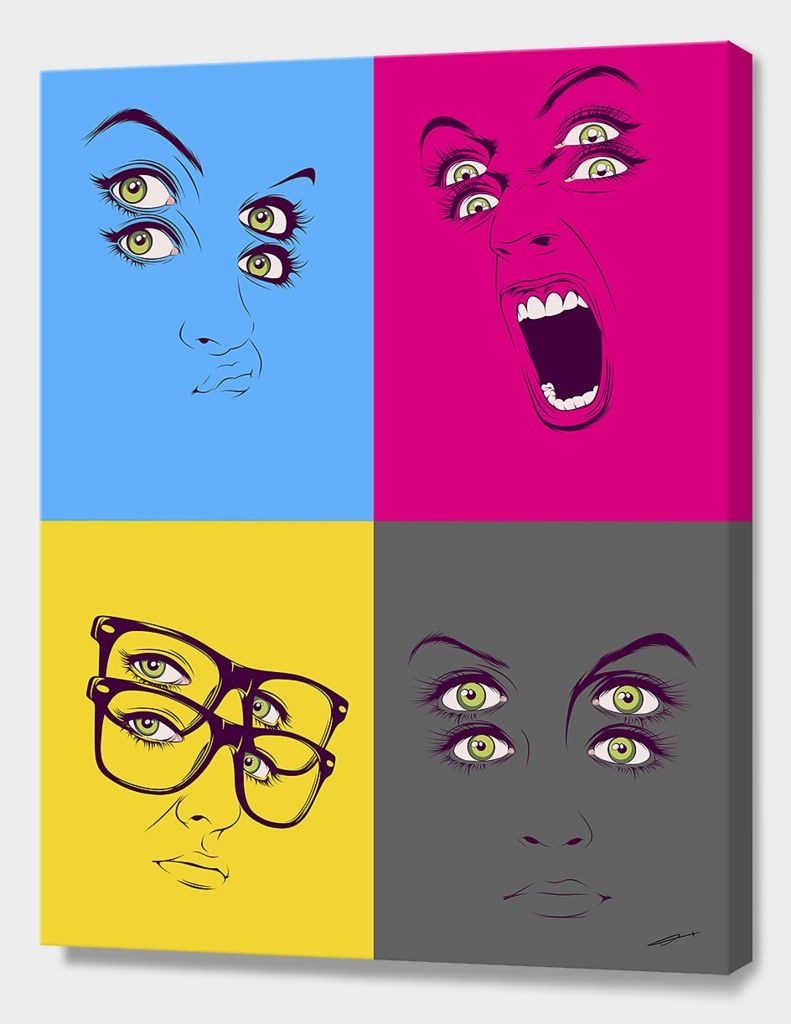 CMYK Faces Compilation