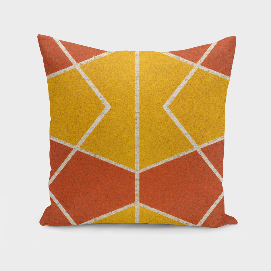 Geometric color shapes
