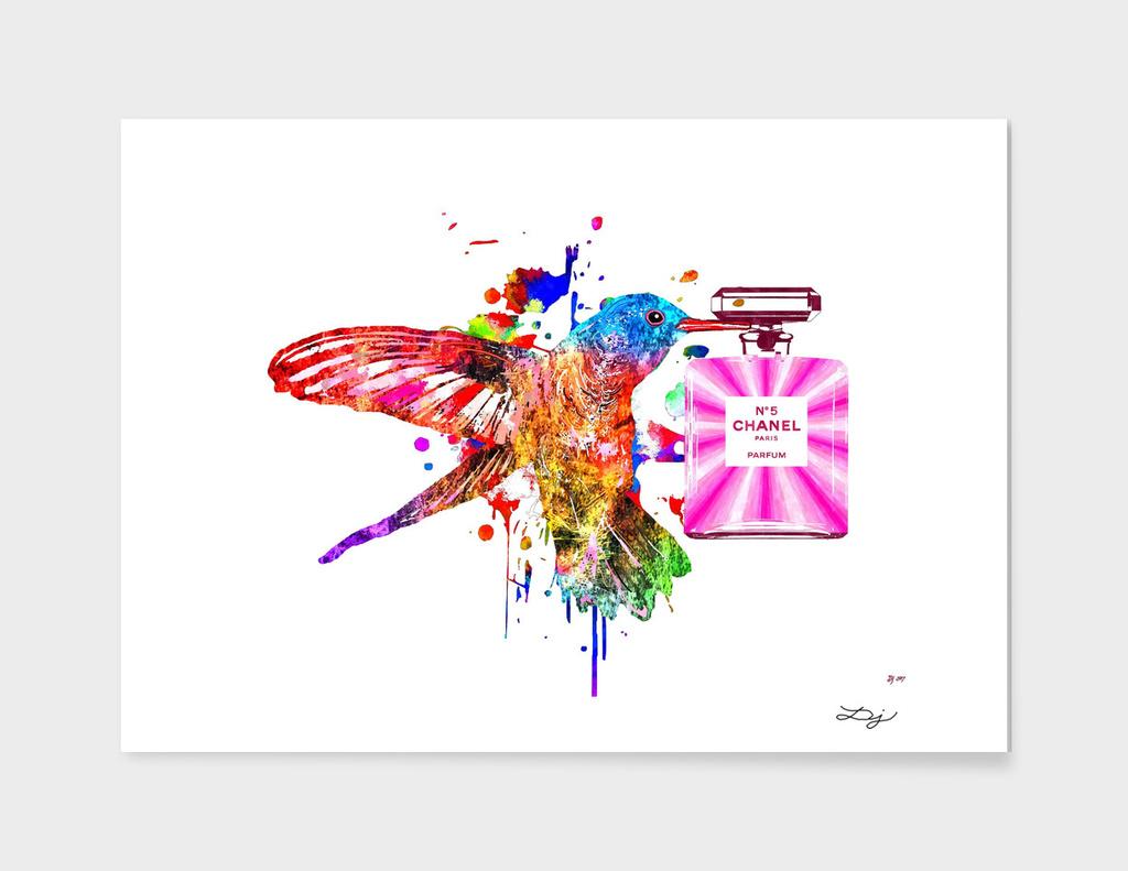 Hummingbird and Chanel