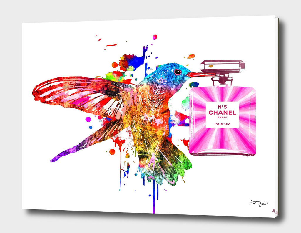 Hummingbird and Chanel