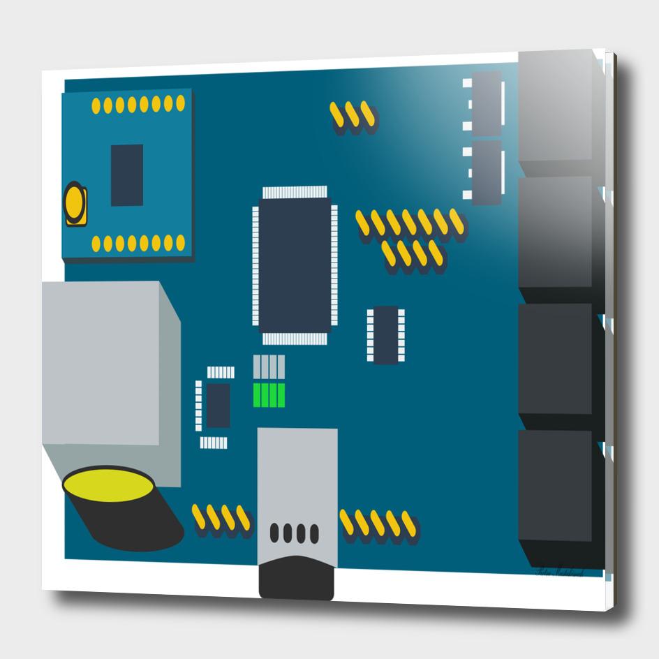 Amphisbaena two platform dtn node vector file