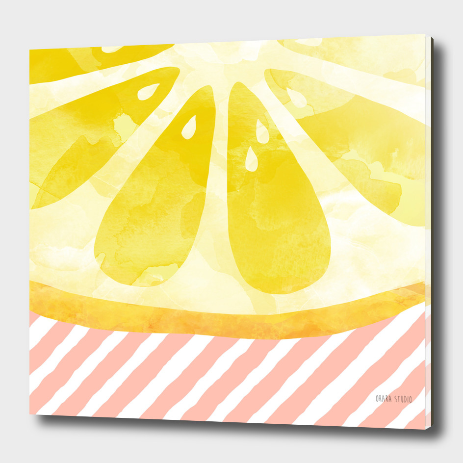 Lemon Abstract