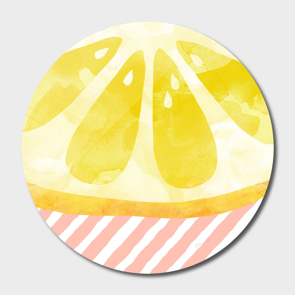 Lemon Abstract