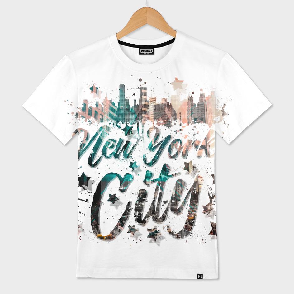 New York City Typography | Geometric Mix No. 4